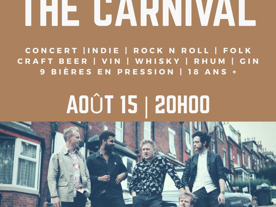 Huw Eddy & The carnival
