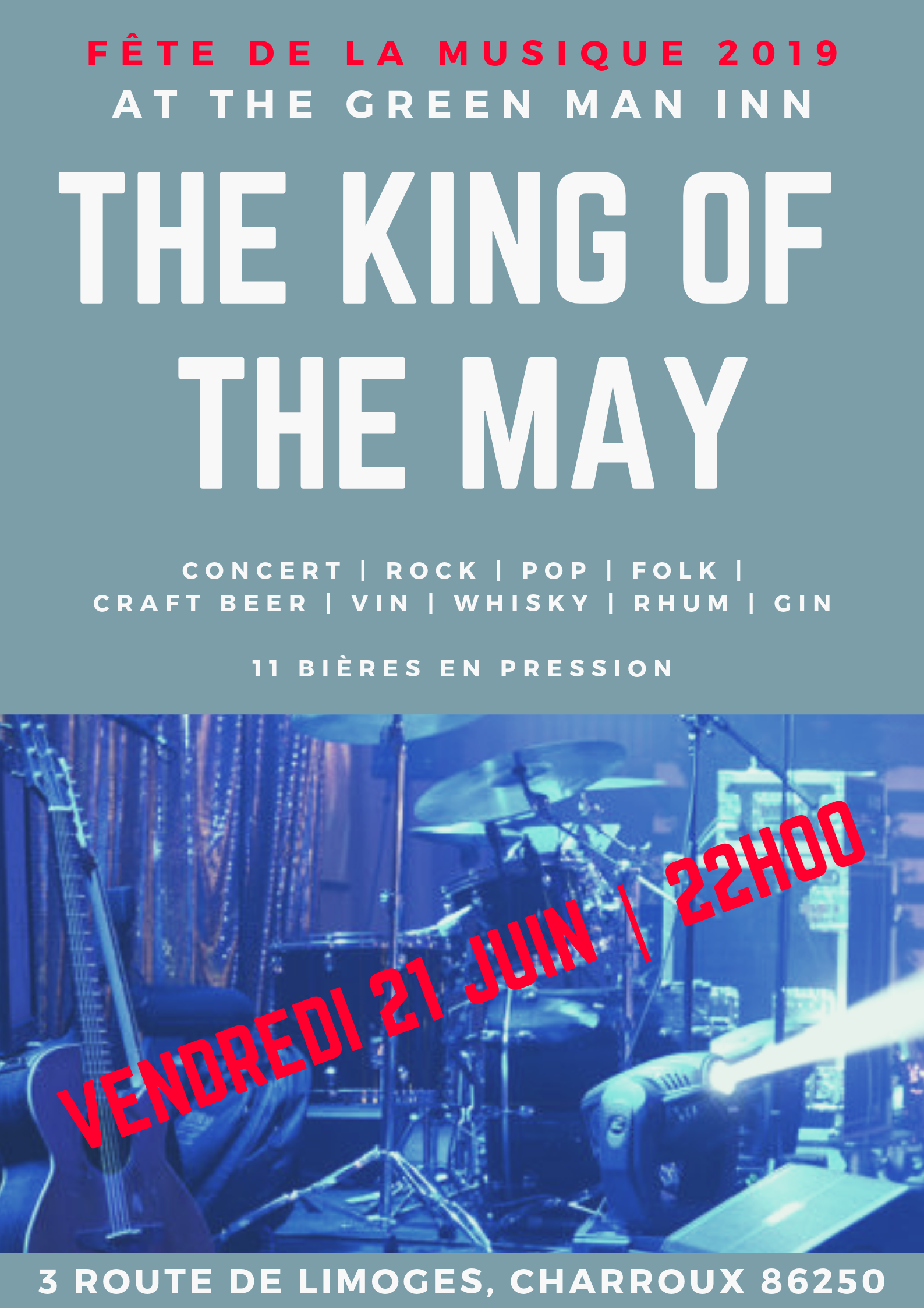 The King of the may