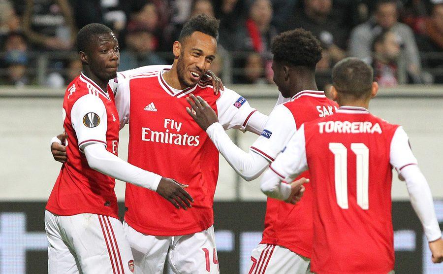Arsenal v Frankfurt